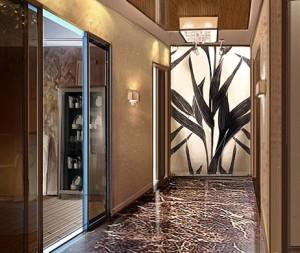 Как декорировать интерьеры холлов, коридоров, прихожих.