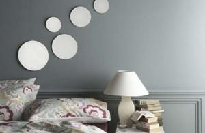 Космос, зеркала и музыка в декоре спальни